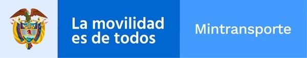 Logo Ministerio de transporte